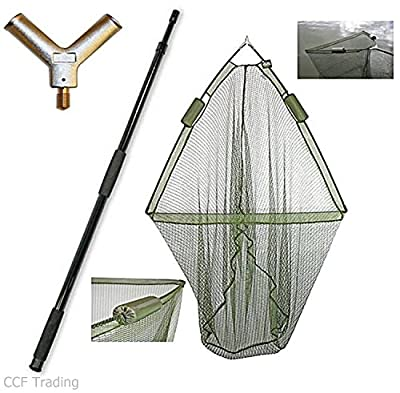 "42"" Carp Fishing Landing Dual Net Float System With 2m Telescopic Handle NGT from NGT"
