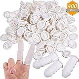 Best Finger Cots - Gejoy 400 Pieces Disposable Latex Finger Cots, Finger Review