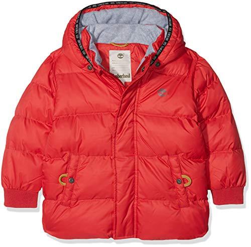 Timberland Baby-Jungen Jacke Doudoune, Rot (Sport RED), 98