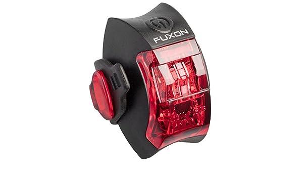 Fuxon Silicone II R/ücklicht 1 LED StVZO LiPo Akku spritzwassergesch/ützt