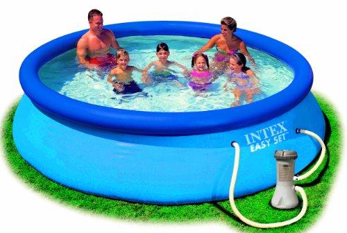 Intex Aufstellpool Easy Set Pools®, Blau, Ø 366 x 76 cm