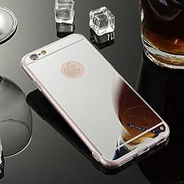 sycode miroir coque pour iphone 8 plus