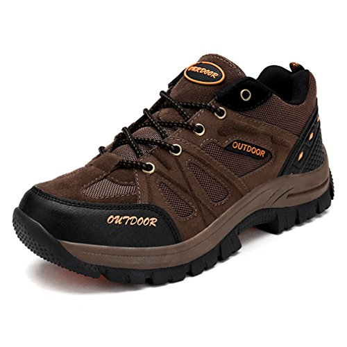 Xi-gua Marron Chaussures De Marche Et De Randonnée