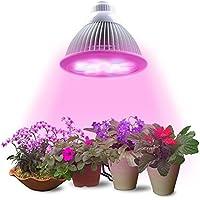 Lumin Tekco LED bomlilla ,12W E27 (3 LED azul y 9 LED rojo) , Iluminación de la planta de interior, Plantas de flores de jardín, el crecimiento de verdura ,invernadero,[Clase de eficiencia energética A+++]