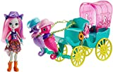 Enchantimals FKV61 Sandella Seahorse, Friends and Western-Styled Coach Doll & Playset