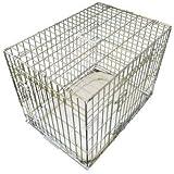 Ellie-bo Deluxe extra fuerte 2puertas plegables, para perro/cachorro de la jaula con cama de matrimonio oveja sintética X Large