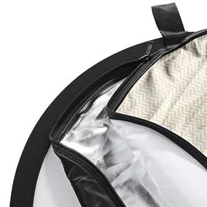 Walimex 5-in-1 Faltreflektor Set (150 x 200 cm) wavy gold/silber/schwarz/weiß