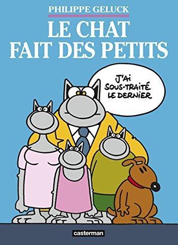 Le Chat, Tome 20 : Le Chat fait des petits : Coffret 3 volumes by Philippe Geluck (2015-10-07)