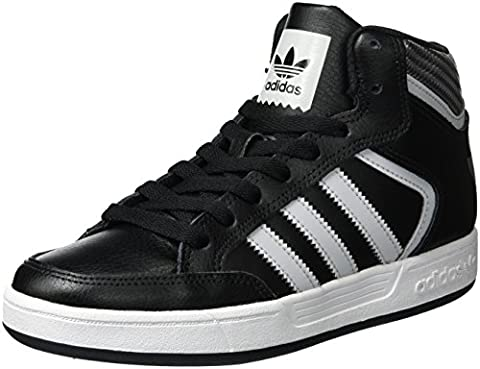 adidas Varial Mid, Montantes Homme, Noir (Core Black/Lgh Solid Grey/Ftwr