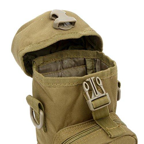 F@800ml all'aperto sport viaggio Borse a tracolla, borsa Kettle integrata tattico militare campeggio , three camouflage cp camouflage