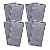 Finest-Filters 8 x Compatible PolyCarbon Carbon Foam Filter Pads to fit Fluval U2 Range of Internal Filters