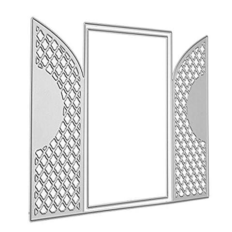 MASUNN Lace Frames Metal Cutting Dies Schablone Vorlage Für Scrapbooking Grußkarten Album Foto (Ausschnitte Vorlage)