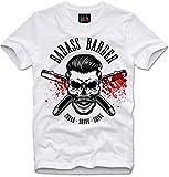 Lilith T-Shirt Hipster Beard Badass Barber Shave Sheer Shine, L