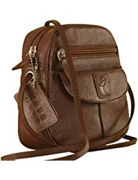 eZeeBags Women s Maya Teen Leather Sling Bag - to Enhance Your Style and  Confidence- ( 97bf693883