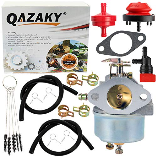 QAZAKY vergaser ersatz für 632110 632111 Tecumseh 632334 632370 632536 ohsk125 schneefräse Generator Chipper Shredder