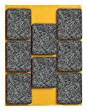 peha Filzgleiter / Möbelgleiter selbstklebend, PREMIUM - 5,0 mm  20 x 40 mm (8 Stk.)