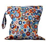 Baby Wasserdicht Reißverschlusstasche Wiederverwendbare Waschbar Baby Tuch Windel Tasche w