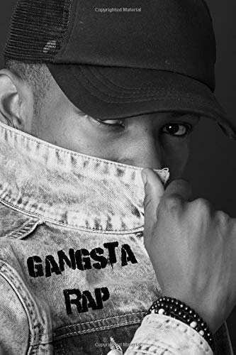 Gangsta Rap: Music Album Review Journal Rate Your Rap CD Music Collection Paperback