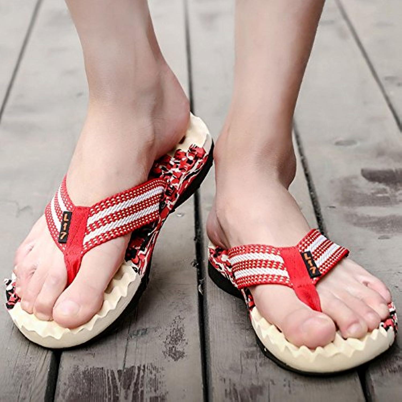 XIAOLIN Sommer Flut männliche Hausschuhe Männer Sandalen und Hausschuhe rutschfeste weichen Boden im Freien tragen