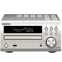 Denon - RCD-M40DAB Argento DM40 M40 DAB - Stereo compatto (Ricondizionato Certificato)