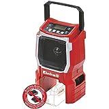 Einhell Akku Radio TE-CR 18 Li Solo Power X-Change (Lithium Ionen, 18 V, AUX inklusive Anschlusskabel für Handy, MP3-Player, ohne Akku und Ladegerät)