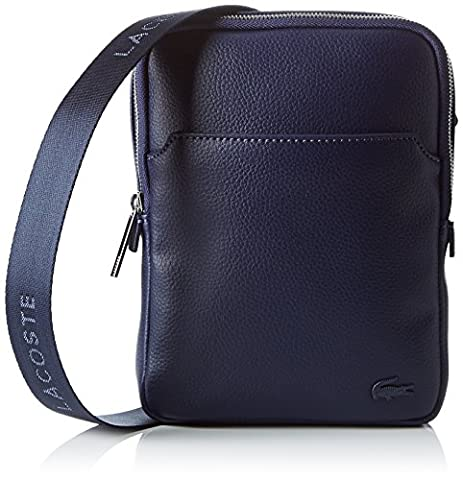 Lacoste Sacoche - Lacoste NH1740GL, Sac Bandouliere Homme, Peacoat, 20.5