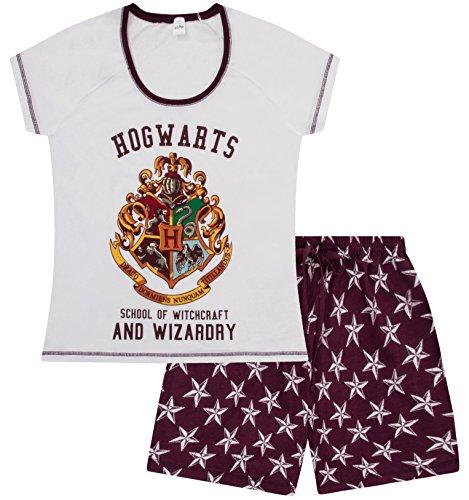 Harry Potter Short Womens Hogwarts Harry Potter Ladies Pyjamas