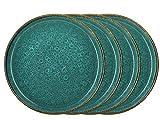 BITZ 821302 Speiseteller Set 4tlg. Green 27 cm (4 Teller)