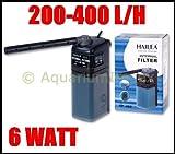 HAILEA RP-400 Innenfilter inkl. Aktivkohle-Box Filter Süß und Meerwasser