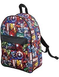 763d19f013 Marvel Avengers Official Backpack for Children Boys Girls Adults Comics  Back Pack Travel Rucksack Bag