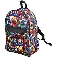 Mochila Marvel Avengers Capitán América Thor Hulk Iron Man para Niños Maleta Escolar ...