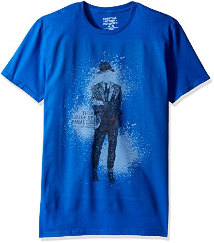 Creative Action Network Men's This Side of Paradise Cover Art Short Sleeve Graphic T-Shirt