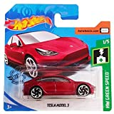 FM Cars H o t W h e e l s Tesla Model 3 HW Green Speed 1/5 (174/250)