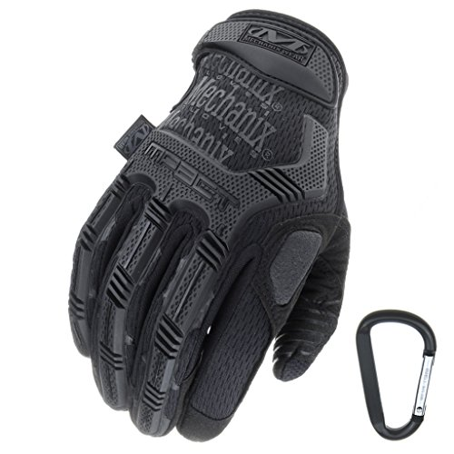 guanti mechanix mpact Mechanix Wear + RT Outdoor Mechanix Indossare MPACT Utilizzo tattico Guanto Grigio Taglie M L XL (L Nero)