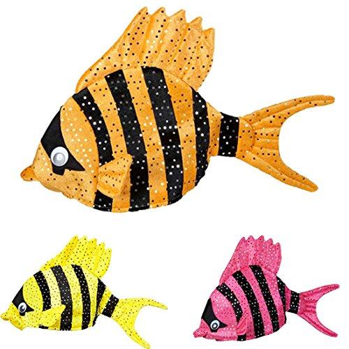 isch Hut orange Kopfbedeckung Fisch Fischhut Fischkostüm Zubehör Karnevalshut lustige Hüte ()