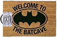 1art1 Batman Door Mat Floor Mat - Welcome to The Batcave (24 x 16 inches)