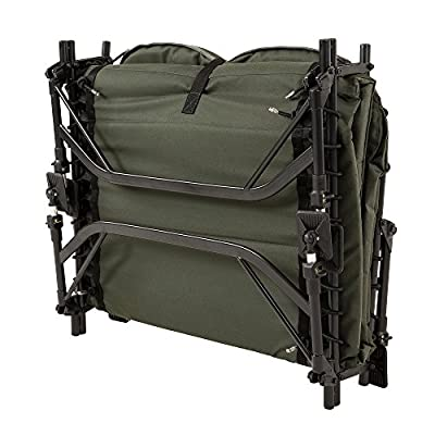 JRC Defender Wide Levelbed Bedchair, Green by JRC