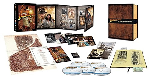 Indiana Jones The Complete Adventures Rare (Limited Edition Collector\'s Set)