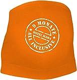 KLEINER FRATZ Bauchband (Farbe orange) (Größe XL) 9 Monate all inclusive