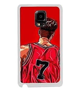 Player 2D Hard Polycarbonate Designer Back Case Cover for Samsung Galaxy Note 4 :: Samsung Galaxy Note 4 N910G :: Samsung Galaxy Note 4 N910F N910K/N910L/N910S N910C N910FD N910FQ N910H N910G N910U N910W8