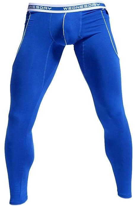 Größe M Longpant Longleg Funktionsunterwäsche Lange Unterhose Thermo Blau WJ