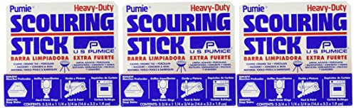 US Pumice Heavy Duty Scouring Stick (Pack of 3)