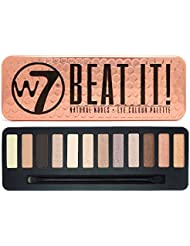 W7 Beat It! Natural Nudes Eye Colour Palette, 1er Pack (1 x 172 g)