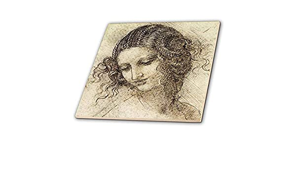 Leonardo da vinci leda piastrelle di vetro piastrelle 15 2 cm
