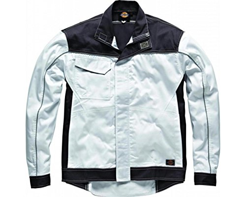 Dickies Veste Industry260 haute visibilité IN7001 White/Grey