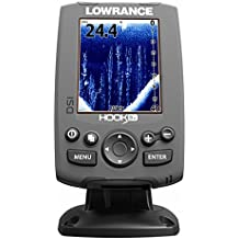Lowrance Hook - 3 x DSI Fish Finder sonar buscador de 455/800 kHz pescado adjudicadoras