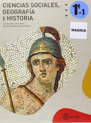 Ciencias Sociales 1º ESO - Madrid: Obra Completa (Trimestres) (Enseñanza secundaria) - 9788446027256 por Vv.Aa.