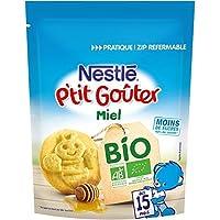 Nestlé Bébé P'tit Gouter Bio Miel Dès 15 Mois 150 g - Pack de 6