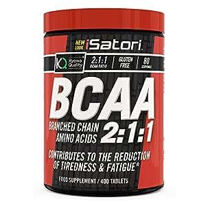 Isatori BCAA Kyowa 1000 mg, comprimés de 400
