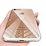 iPhone 8 Handyhülle , iPhone 7 Hülle , Omitium Crystal iPhone 8 Silikon hülle Ultra Dünn Kratzfest Anti-Shock Soft TPU Bumper Schutzhülle für iPhone 7 / iPhone 8 Case - Transparent